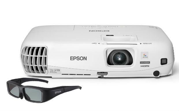 Epson presenta su primer proyector 3D activo para empresas