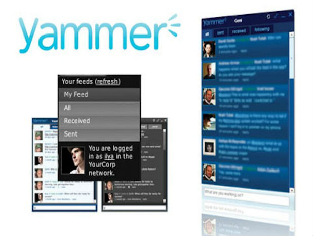 Yammer se integrará con SkyDrive y Office Web App