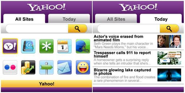 Yahoo cierra siete de sus productos, incluyendo la app para Blackberry
