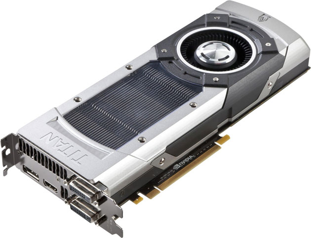 Gráfica ASUS GeForce GTX Titan