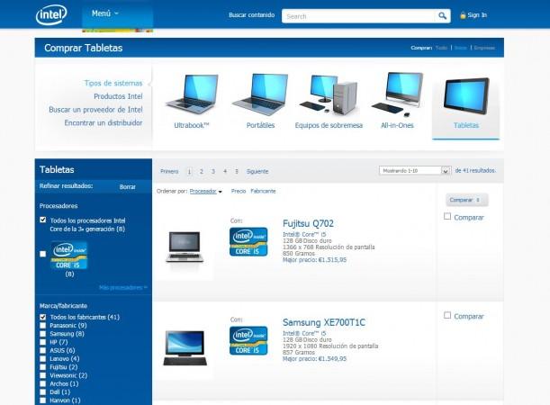 ¿Cómo elegir una tableta profesional Intel?