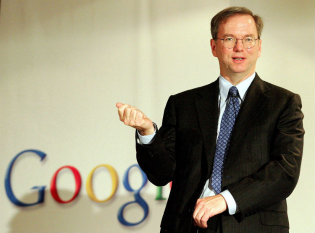 Eric Schmidt usa BlackBerry