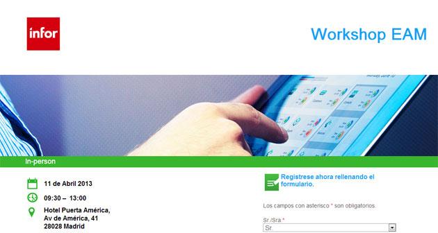 Infor celebra un evento sobre la tecnología de gestión de activos empresariales (EAM)