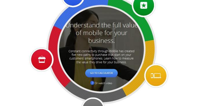 Google lanza herramienta para saber el ROI de los anuncios en móviles