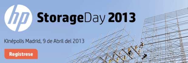 Todas las soluciones de Almacenamiento Convergente de HP en StorageDay 2013