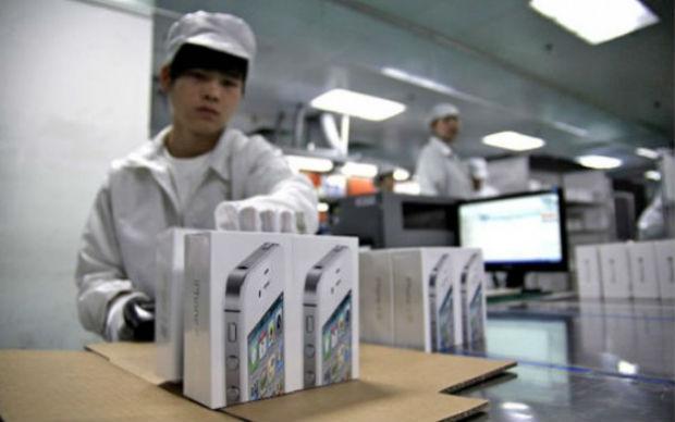 Foxconn trabaja sus fábricas al interior de China