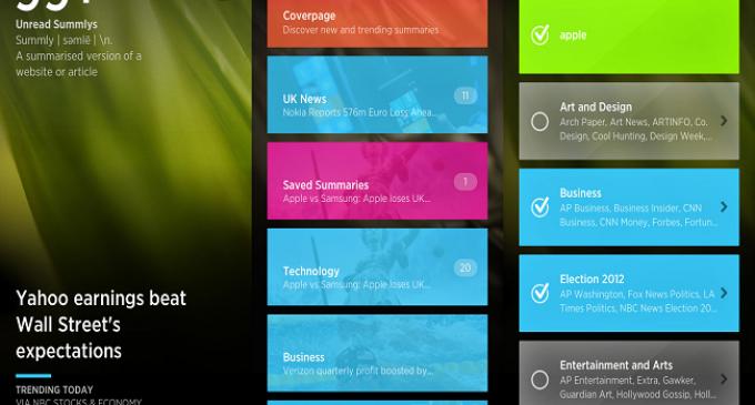 Yahoo! compra Summly, aplicación de noticias para iPhone
