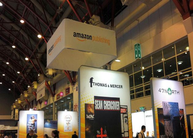 Amazon vende más que en el primer trimestre de 2012, pero gana menos