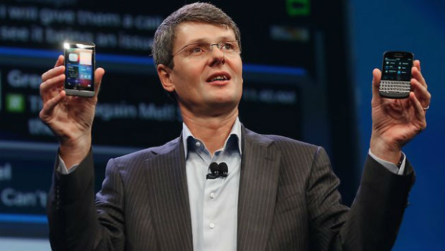 El CEO de Blackberry espera vender 10 millones del modelo q10