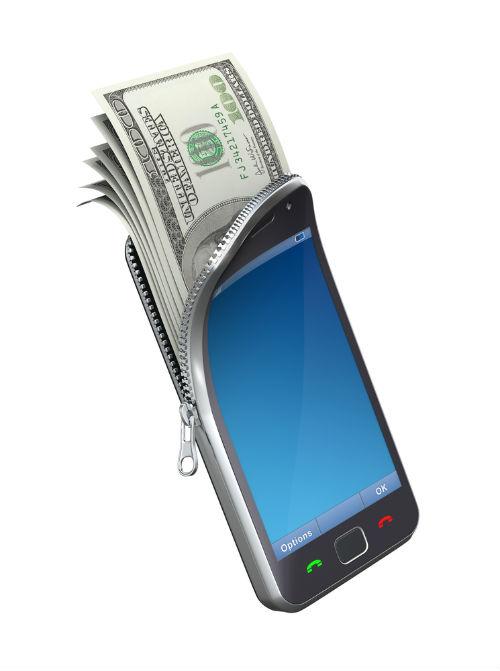 Pago móvil a través de una aplicación