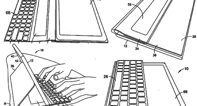 Nokia consigue la patente por una tablet con funda y teclado