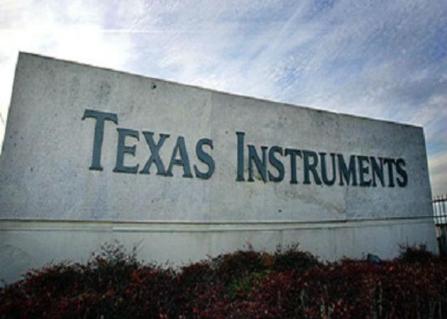 Texas Instruments obtiene unas ganancias de 362 millones de dólares en el primer trimestre