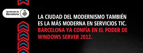 El Ayuntamiento de Barcelona amplía y mejora la virtualización de escritorio con Windows Server 2012