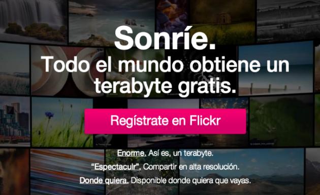 Yahoo va a por todas con la renovación de Flickr