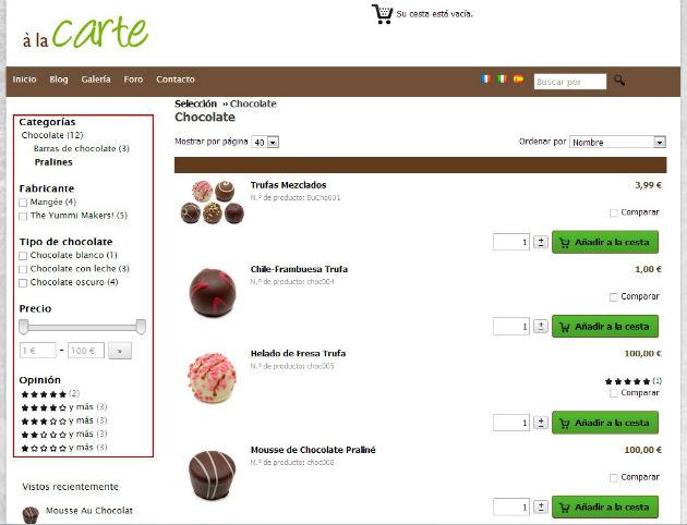 Las Tiendas Online de STRATO incorporan búsquedas optimizadas y facilitan la compra desde dispositivos móviles