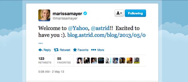 Yahoo! compra Astrid, una aplicación para realizar listas de tareas