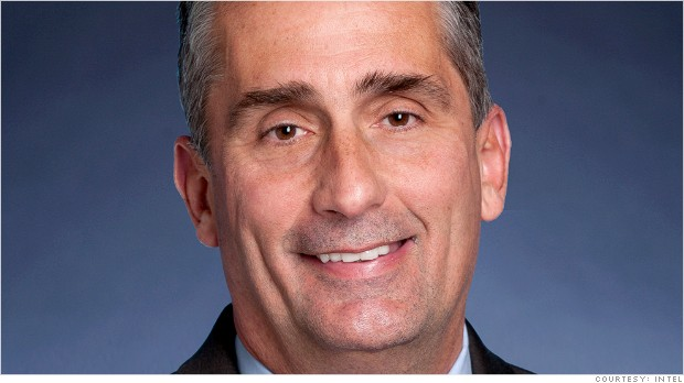 Brian Krzanich sustituirá a Paul Otellini como CEO