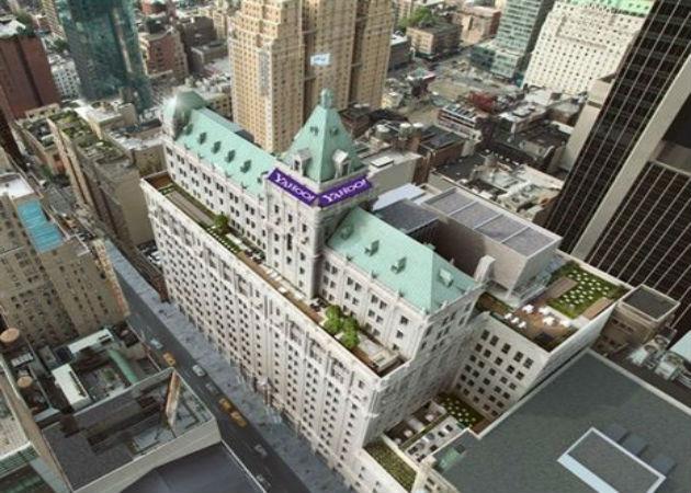 Yahoo! cambiará sus oficinas al antiguo edificio del New York Times