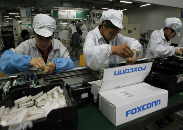 Apple, cada vez más alejada de Foxconn