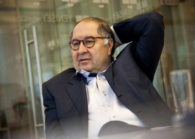 El millonario ruso Alisher Usmanov invierte 10 millones de dólares en Apple