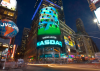 Nasdaq: Apple y BlackBerry caen y Microsoft, Google y Cisco suben