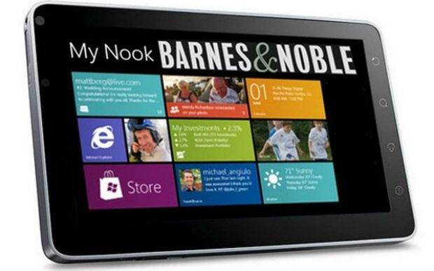 Microsoft quiere comprar los Nook de Barnes and Noble