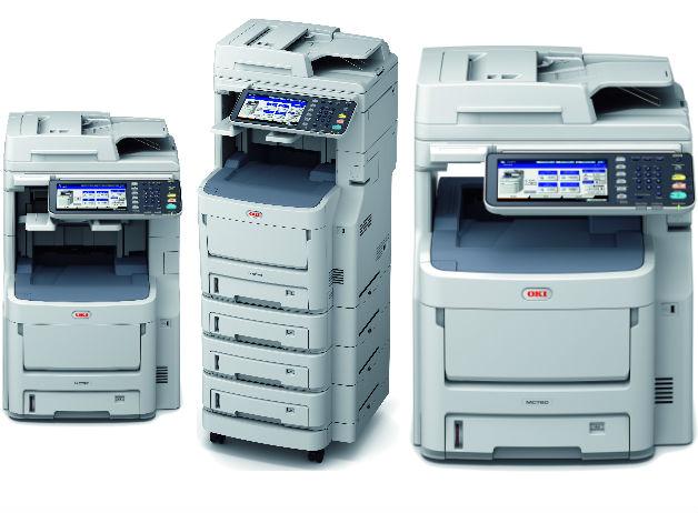 OKI presenta MC700, su nueva serie de equipos multifunción A4 color