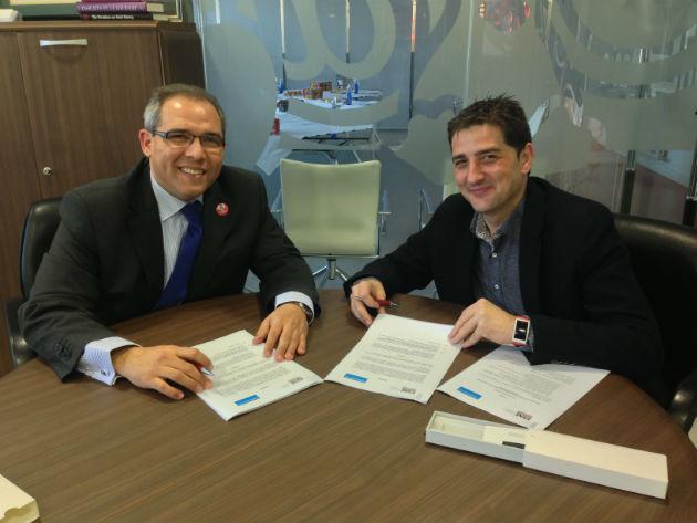 """ESNE firma con Telefónica I+D un acuerdo para la puesta en marcha del laboratorio """"inHouse Lab ESNE & Telefónica I+D"""""""