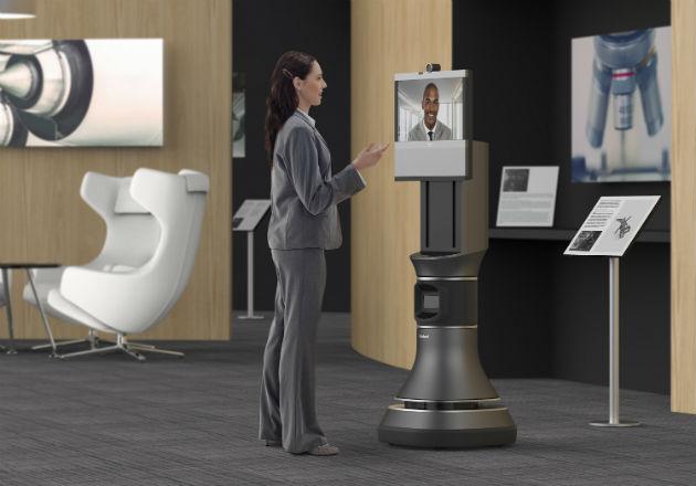 iRobot anuncia un robot de colaboración que incluye la tecnología de TelePresencia de Cisco