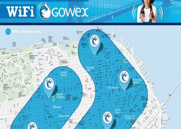 Gowex anuncia la implantación de Wireless Smart City en San Francisco