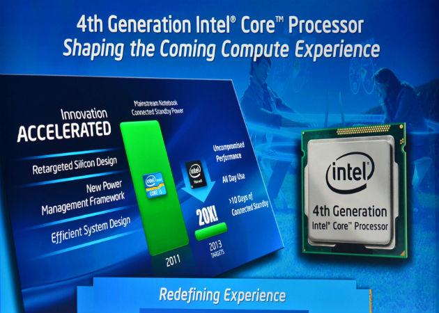 Intel Haswell ya ha marcado historia