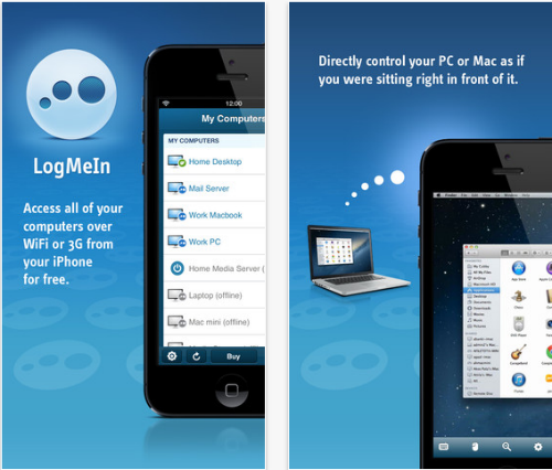 LogMeIn for iPhone