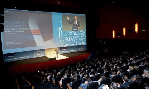 Software AG celebró ayer su evento Process Forum 2013 con la presencia de más de 300 asistentes