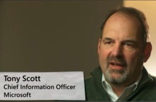 "Tony Scott deja Microsoft para iniciar ""proyectos personales"""