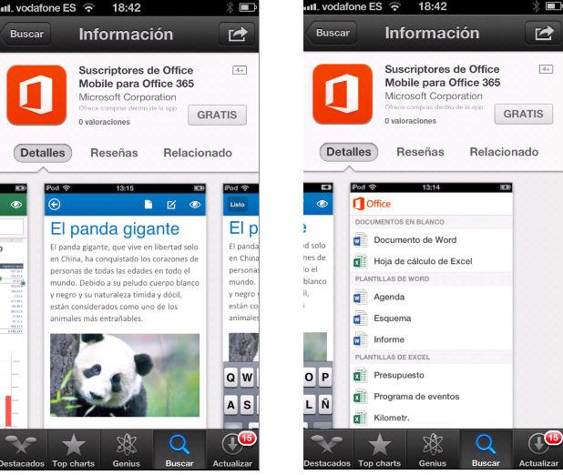 La app del nuevo Office para iPhone ya está disponible en España