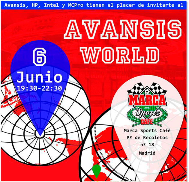 AVANSIS celebra su evento AVANSIS WORLD, un evento solidario y con sorpresas