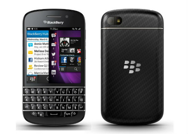 La BlackBerry Q10 ya está disponible en España