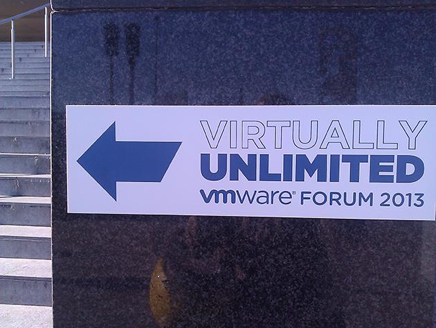 "VMware Forum 2013: ""Virtually Unlimited"""