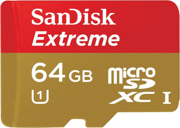 Sand Disk lanza la tarjeta MicroSD de 64GB más rápida del mercado