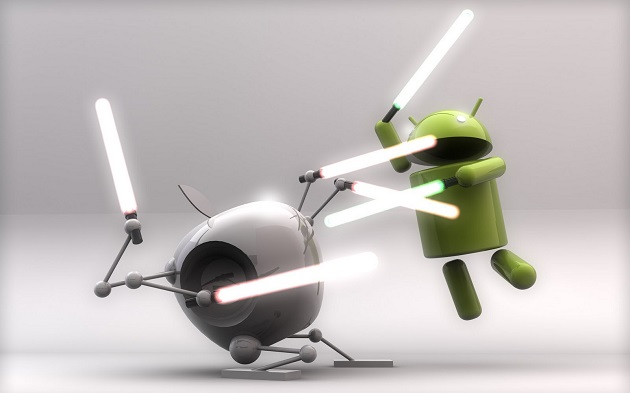 Android versus iOS