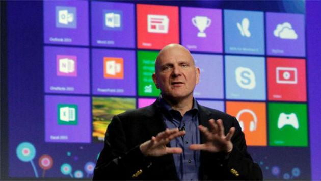 Ballmer no está contento con las ventas de Windows