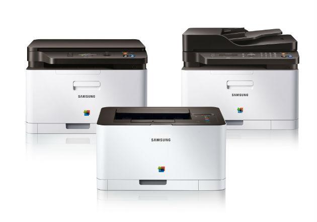Xpress C410W, serie de impresoras Samsung con tecnología NFC