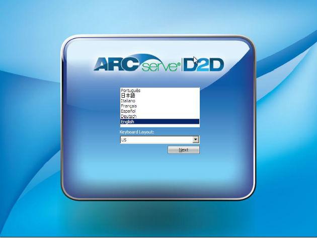 CA ARCserve D2D
