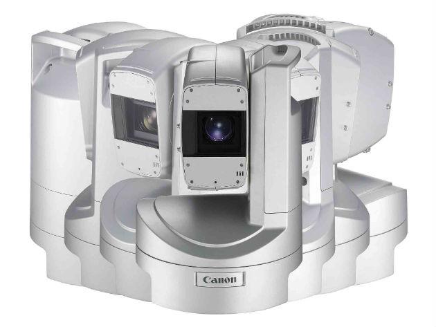 Cámaras de videovigilancia Canon: PTZ Full HD XU-81 y XU-81W