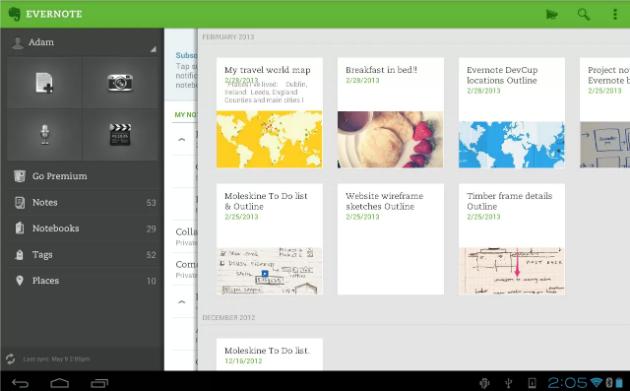 OfficeSuite de Mobile Systems y Evernote se unen para ofrecer la edición rápida y fácil de documentos en Android
