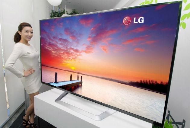 Las pantallas de LG ayudan a la empresa a mejorar sus resultados financieros