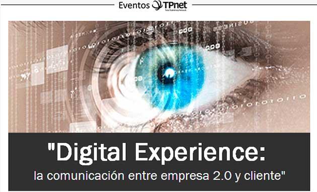 Sigue el evento de Digital Experience en streaming desde aquí