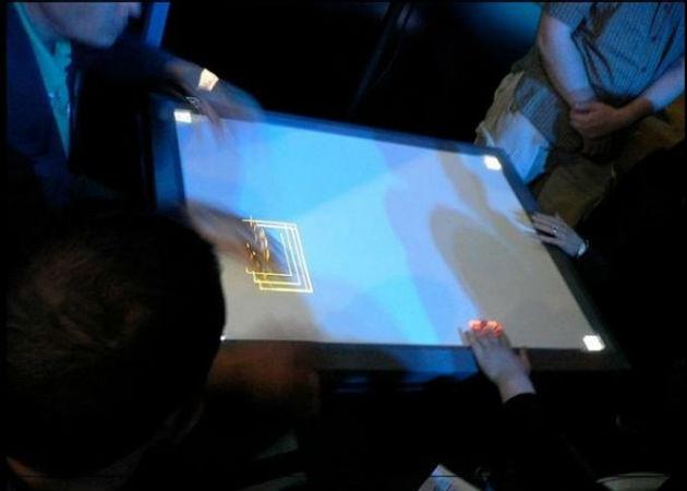 Crean la primera pantalla táctil de sobremesa que reconoce huellas digitales
