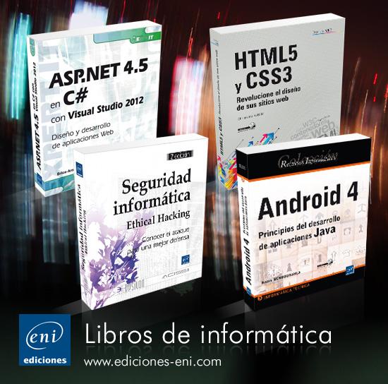 Ediciones ENI, especializada en el conocimiento informático