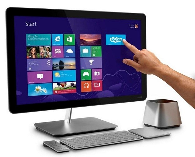 ¿Queremos controlar el ordenador a través de la pantalla táctil?